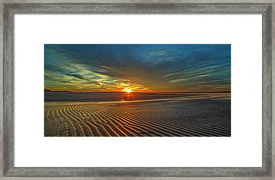 Wilderness Beach Heartbreak Framed Print