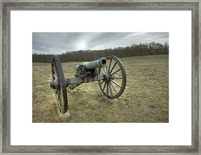 Wilderness Cannon Framed Print by Harry H Hicklin