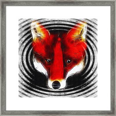 Wilderness Fox Framed Print