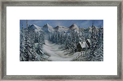 Wilderness Framed Print by Katia Aho