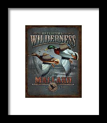Waterfowl Framed Prints