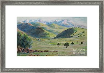 Wilderness Of Utah Framed Print by Jeanette Skeem