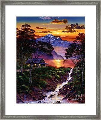 Wilderness Spirit Framed Print by David Lloyd Glover