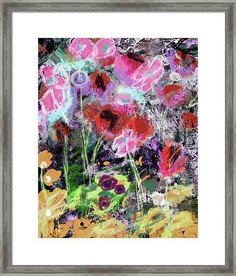 Wildest Flowers 2- Art By Linda Woods Framed Print