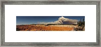 Wildfire Cedar Breaks National Monument Utah Framed Print
