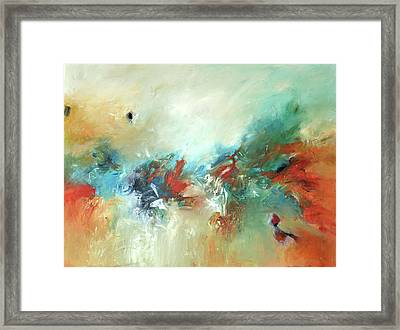 Wildfire Framed Print by Filomena Booth
