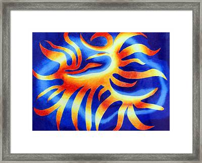 Wildfire Framed Print by Tina Storey