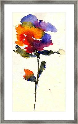 Wildflower Framed Print by Anne Duke