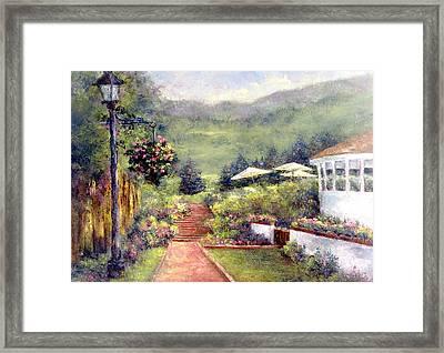 Wildflower Inn Framed Print