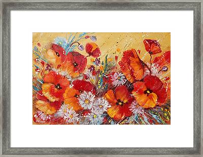 Wildflower Meadows Framed Print