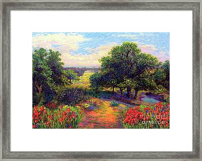 Wildflower Meadows Of Color And Joy Framed Print