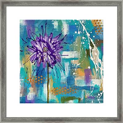 Wildflower No. 1 Framed Print