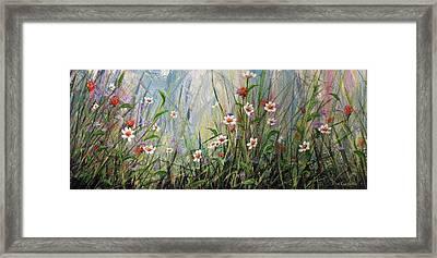 Wildflowers Framed Print by Dee Carpenter