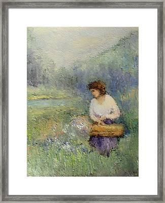 Wildflowers Framed Print