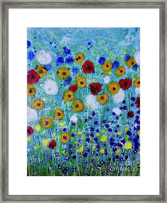 Wildflowers Never Fade Framed Print