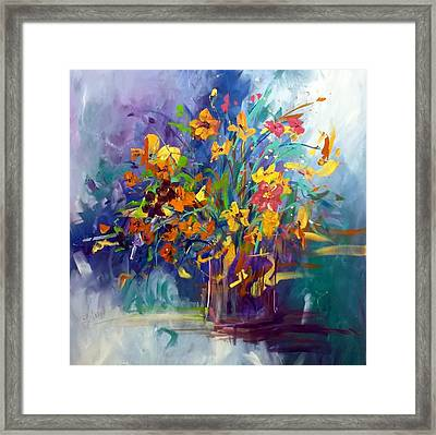 Wildflowers Framed Print by Terri Einer