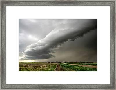 Wildorado Storm Framed Print