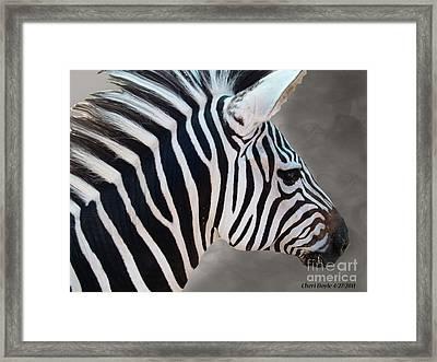 Wildside Framed Print by Cheri Doyle