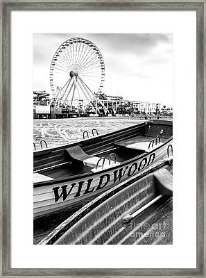 Wildwood Black Framed Print by John Rizzuto