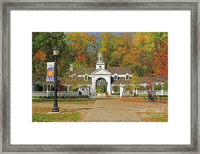 Wildwood Metropark Framed Print