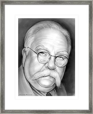 Wilford Brimley Framed Print
