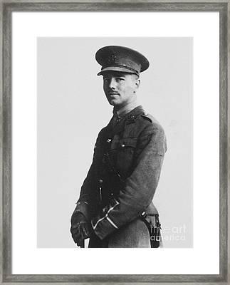 Wilfred Owen (1893-1918) Framed Print by Granger