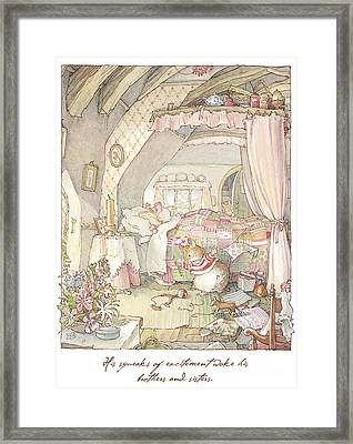 Wilfred's Birthday Morning Framed Print by Brambly Hedge
