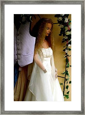 Will Anyone See Me As Me Framed Print by Jez C Self