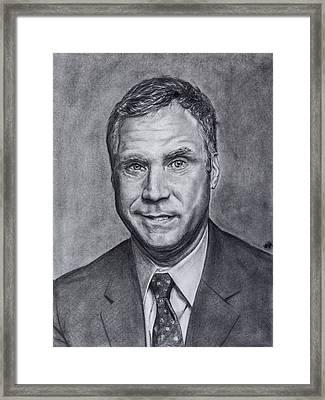 Will Ferrell  Framed Print