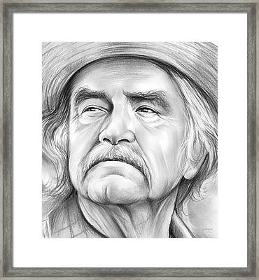 Will Geer Framed Print by Greg Joens