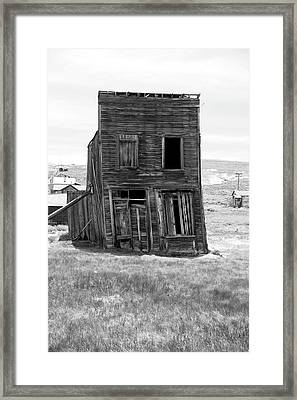 Will Not Pass Inspection Framed Print by Michael Courtney