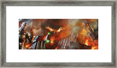 Will Of A Tyrant Framed Print by Ryan Barger