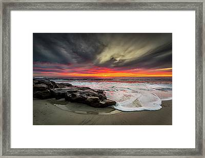 Will Of The Wind Framed Print