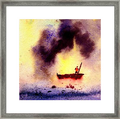 Will Power Framed Print by Anil Nene
