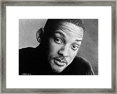 Will Smith Framed Print by Andrew Read