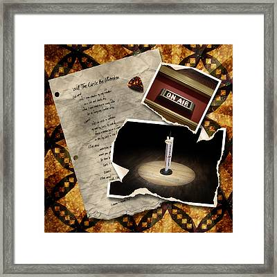 Will The Circle Be Unbroken Framed Print by Sandy MacGowan
