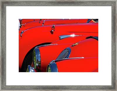 Framed Print featuring the photograph Will The Owner Of The Red Car by John Schneider