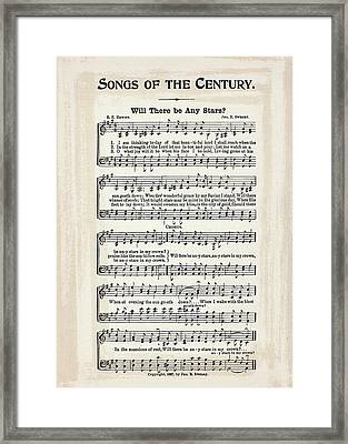 Will There Be Any Stars 1897 Framed Print