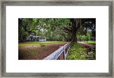 Will Town Bluff Plantation Home IIi Framed Print