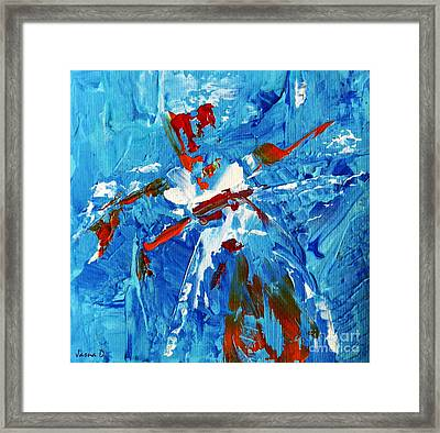Will You Dance With Me? Framed Print by Jasna Dragun