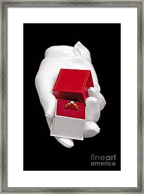 Will You Marry Me Framed Print by Richard Thomas