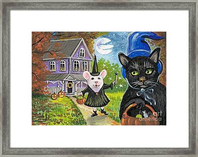 Will You Share Your Candy Framed Print