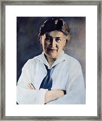 Willa S. Cather (1873-1947) Framed Print by Granger
