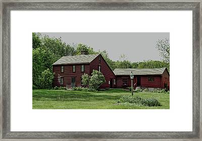 Willard House And Clock Museum Framed Print