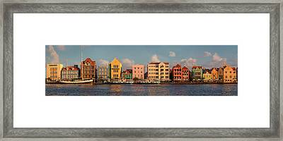 Willemstad Curacao Panoramic Framed Print