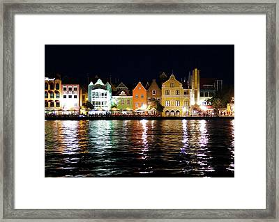 Framed Print featuring the photograph Willemstad, Island Of Curacoa by Kurt Van Wagner