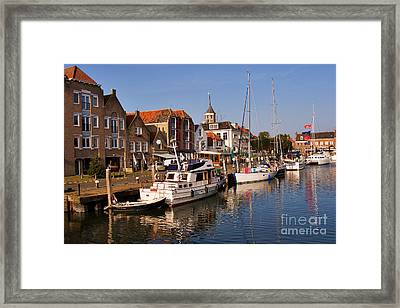Willemstad Framed Print by Louise Heusinkveld