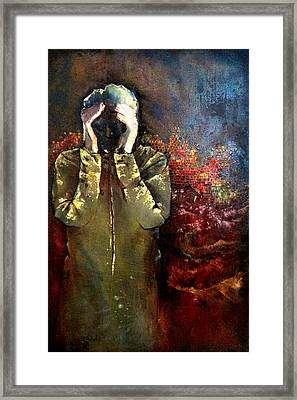 Willful Amnesia Framed Print by Shadia Zayed