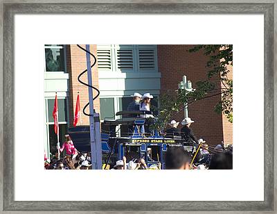 William And Kate Framed Print