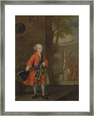 William Augustus, Duke Of Cumberland Framed Print